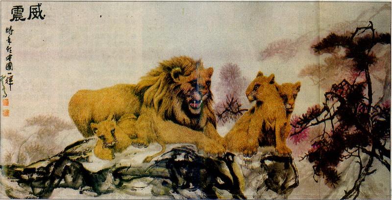 書展中的不可思議 展出H.H.第三世多杰羌佛畫作
